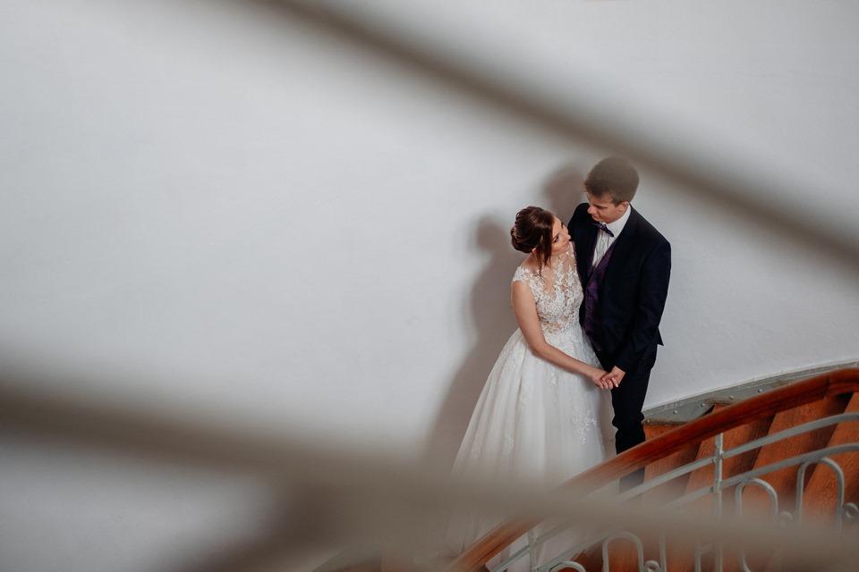 sesja ślubna Kielce  - Anita i Alek – wesele w stylu Upiór w operze